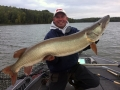 Steve's buddy Charlie Buhler boated this bruiser from shallow coontail in September.