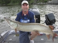 A great fish for Kevin Schmidt on Musky Hunter TV.